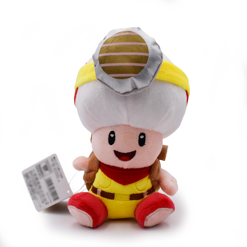 Gratis Pengiriman 8 20 Cm Berdiri Kapten Toad Super Mario Brother Mushroom Toad Boneka Boneka Boneka Boneka Mainan Mario Brothers Super Mario Brothersplush Doll Toys Aliexpress