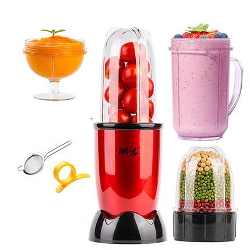 220V Household Electric Juicer Mini Multi Automatic Blender Juicer Machine High Quality Mini Juicer EU/AU/UK Plug