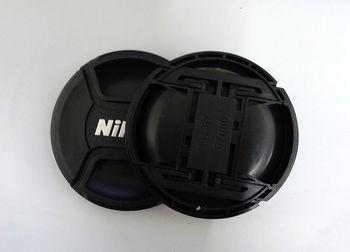 Osłona na obiektyw aparatu 49mm 52mm 55mm 58mm 62mm 67mm 72mm 77mm 82mm LOGO dla Nikon (proszę zwrócić uwagę na rozmiar) tanie i dobre opinie SYSCK