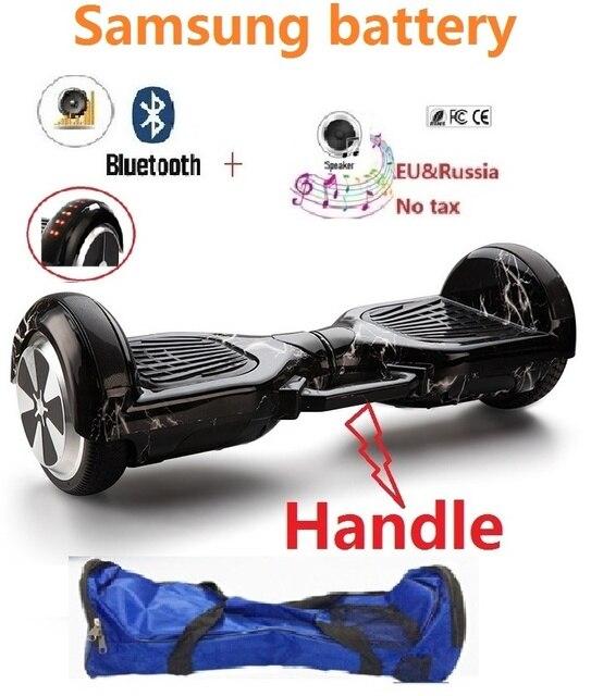 Elektrische skateboard met TOP Led verlichting hoverboard balans ...