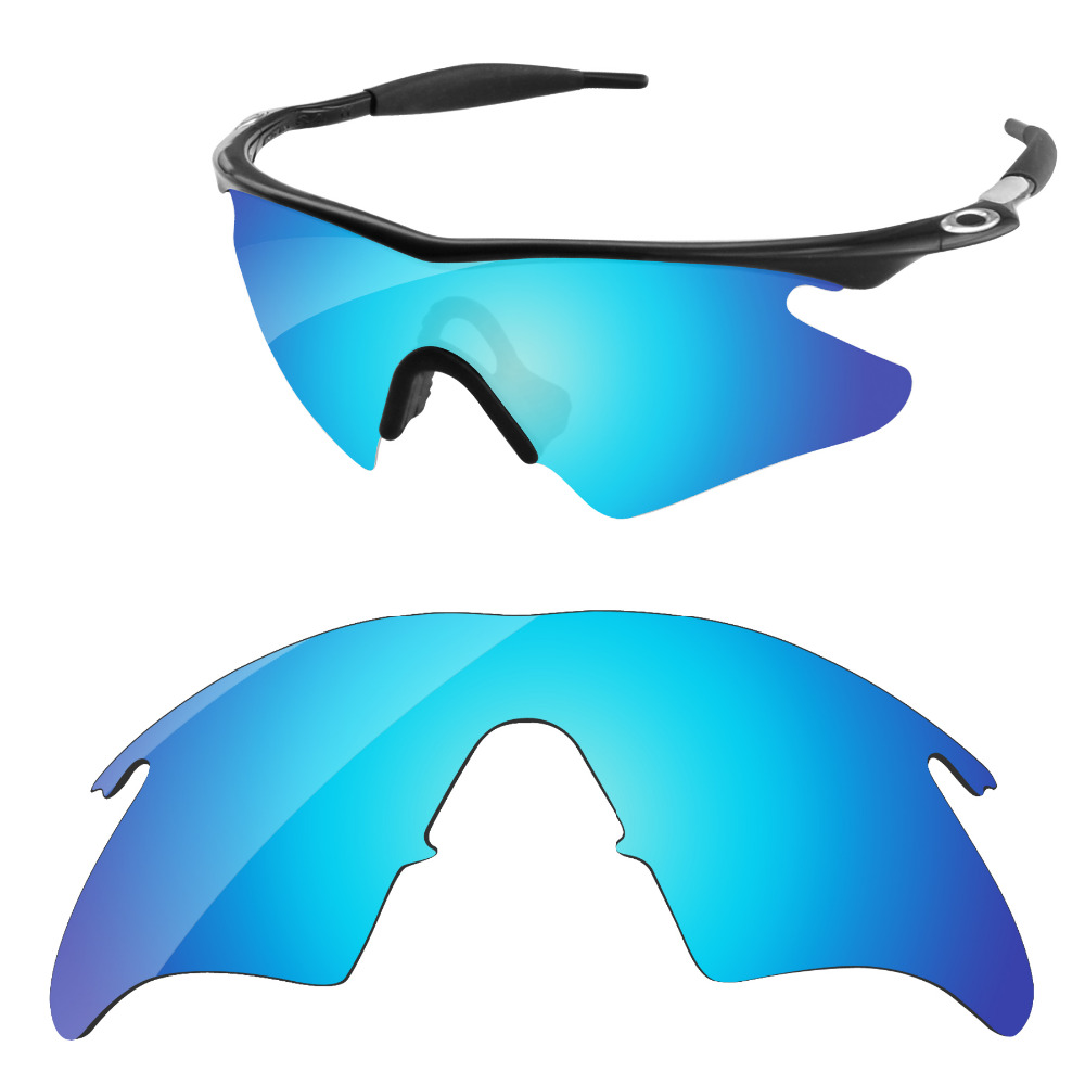 2b8116faeb1 Ice Blue Mirror Polarized Replacement Lenses For M Frame Heater Sunglasses  Frame 100% UVA   UVB Protection-in Accessories from Apparel Accessories on  ...