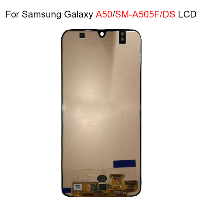 59592655acbf29 For Samsung galaxy A50 A505F/DS LCD A505F A505FD A505A LCD Display Touch  Screen Digitizer Assembly For Samsung A50 lcd