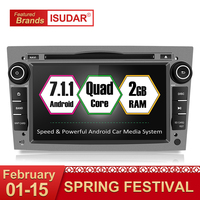 Isudar Zwei Din Auto Multimedia player Android 7.1.1 Auto DVD Player Für OPEL/ASTRA/Zafira/Combo Radio Quad core RAM 2 GB ROM 32 GB-in Auto-Multimedia-Player aus Kraftfahrzeuge und Motorräder bei
