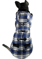 Eu Horn Button Style Pet Dogs Winter Coat Free Shiping By CPAM Medium Large Dogs Clothing