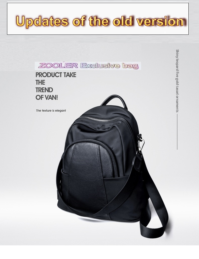 large brand backpack ZOOLER 5