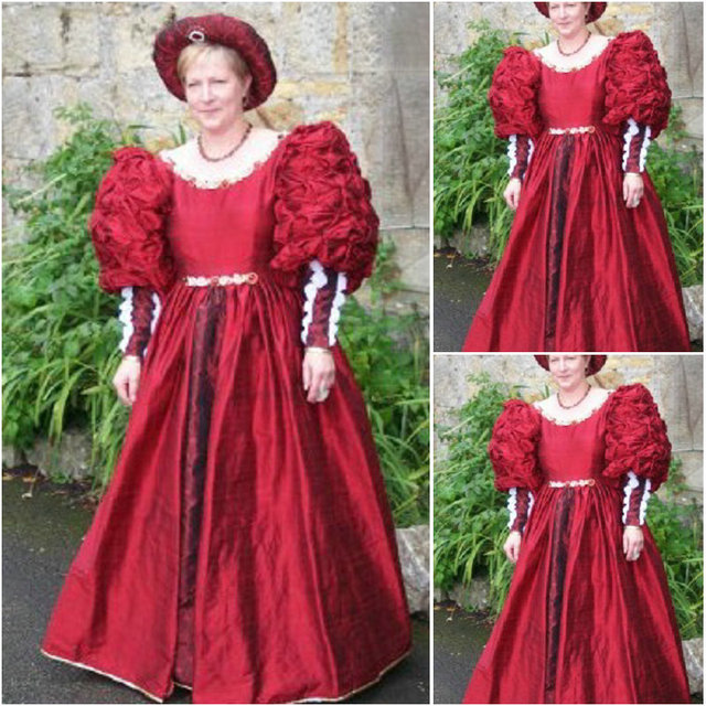On sale!19 Century Vintage Costumes 1860S Victorian Civil War Southern  Belle Gown Dress Scarlett dresses US 4-36 C305 3281ed9b1e04