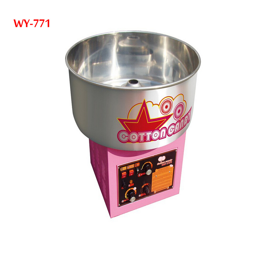 1 piece Electric /Gas (can choose one model )Commercial cotton candy machine cotton floss machine WY-771 one piece machine xp3 16rt 12