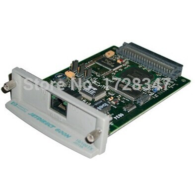 JetDirect 600N J3113A 10/100tx Ethernet Internal Print Server Network Card printer part on sale