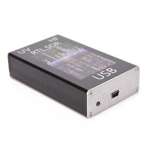 Image 3 - Amatör radyo alıcısı 100 KHz 1.7 GHz tam bant UV HF RTL SDR USB Tuner alıcı USB dongle ile RTL2832u r820t2 Ham radyo RTL SDR