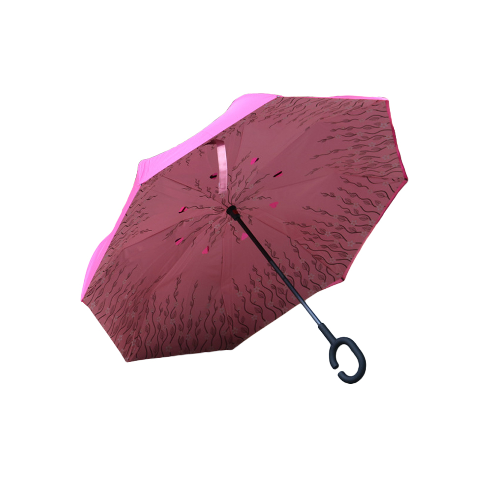 Kétrétegű összecsukható fordított esernyő, új, szélálló - Háztartási árucikkek - Fénykép 2