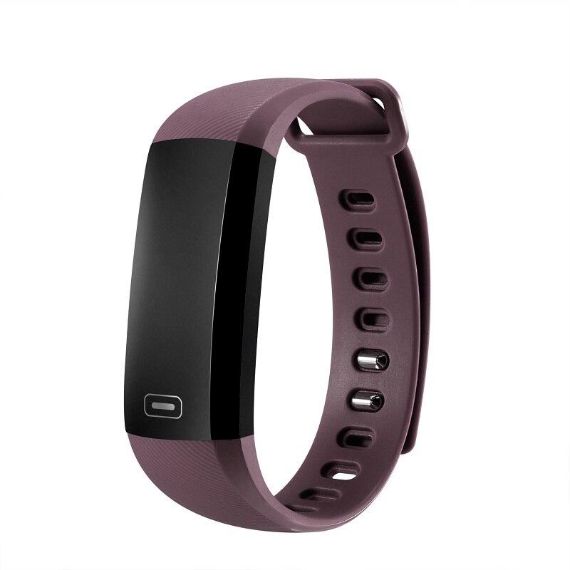imágenes para Alta calidad Más Nueva 37 grados Bluetooth 5.0 Frecuencia Cardíaca de La Presión Arterial Fatiga Estado Reloj Pulsera Inteligente para android y ios