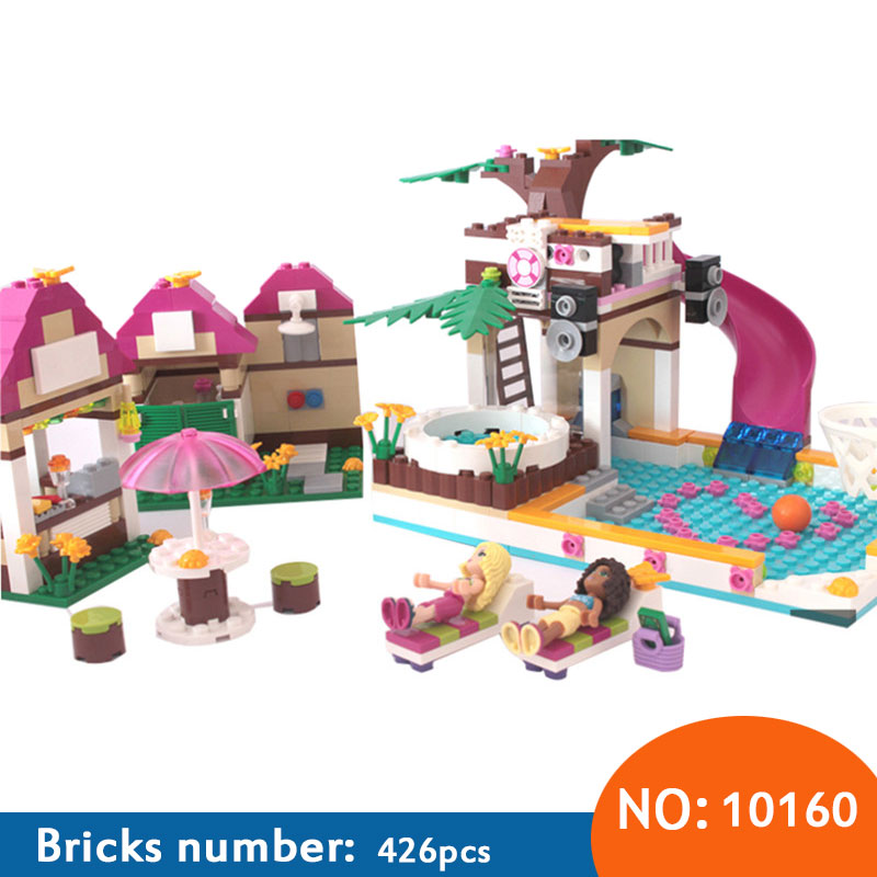 Aliexpress Buy Aiboully 10160 Building Blocks Friends