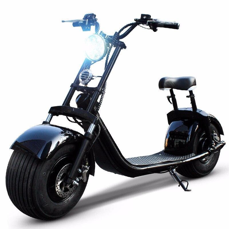 Motos électriques Scooter électrique adulte e-bike 1500 W 1000 W populaire gros pneu plus récent Smart Speedway deux roues APP ville vélo