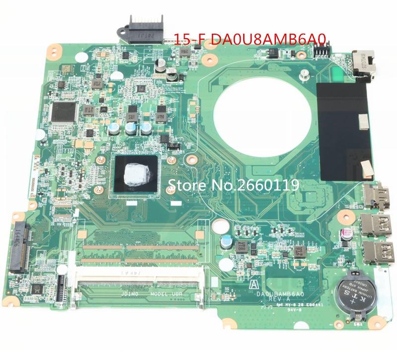 Laptop motherboard for 828166-601 501 001 15-F N3540 DA0U8AMB6A0,Fully tested haoshideng 828164 001 da0u8amb6a0 laptop motherboard for hp pavilion 15 15 f motherboard