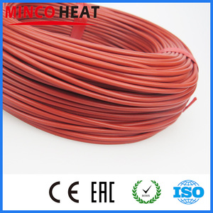 Image 3 - Cavo riscaldante in fibra di carbonio con rivestimento in gomma da 33Ohm/m 3mm