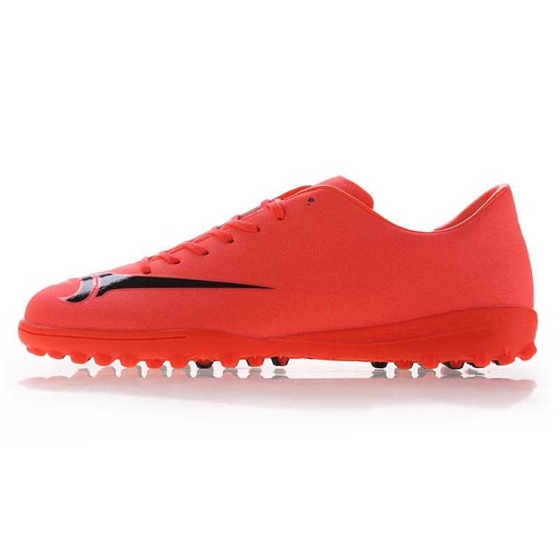 New TF lelaki sukan bola sepak Kasut bola sepak Kasut Wanita Kanak-kanak lelaki Athletic Latihan kasut bola sepak Zapatos Hombre Penghantaran percuma