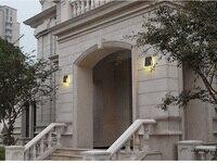 IP54 Waterproof Outdoor Wall Lamp 18W E27 LED Bulb Source Down Lighting Modern Minimalist Indoor Outdoor