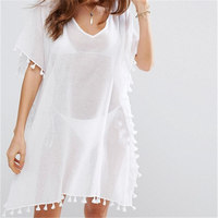 Beach Dress Sexy Cover Up Chiffon Bikini Kaftan Pareo Sarongs Swimwear Tunic Swimsuit Bathing Suit Cover