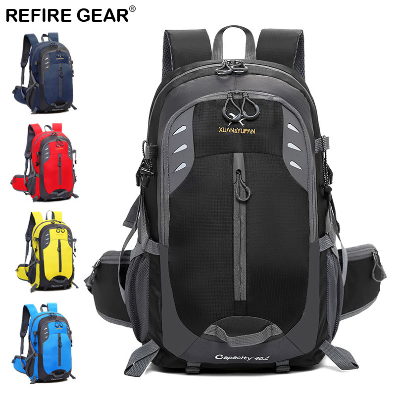 Camping & Hiking Impartial Refire Gear Outdoor Travel Bags Large-capacity Tactical Sports Backpack Hiking Camping Climbing Bag 52cm*33cm*19cm Rucksack Sports & Entertainment