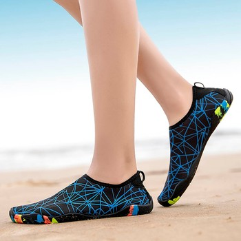 KLV  Couple Beach Shoes Swimming Water Shoes sport outdoor Barefoot Quick Dry Aqua Quick-drying Wading Swimming Shoes