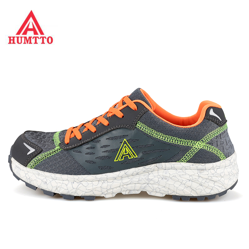 ФОТО HUMTTO Men's Spring And Fall Outdoor Trekking Hiking Shoes Sneakers For Men Breathable Mesh Climbing Mountain Shoes Man