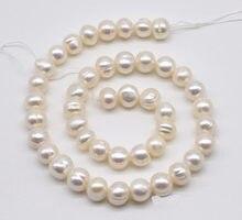 Культивированные жемчужные бусины натуральный цвет белый aa