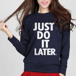 just do it later printing letter sweatshirts brand fashion new style 2016 autumn women hoddies.jpg 250x250