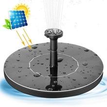 Étang pompe solaire alimenté fontaine jardin décoration eau flottante fontaine Brushless pompe à eau Kit pour oiseau bain fontaine 2019