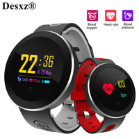 Desxz SmartWatch Blood Pressure Monitor Heart Rate Bluetooth Smart watch men Wearable devices Bracelet Sports Running