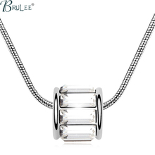 2016 New Fashion Crystal From Swarovski Necklace Round shape luxury Exaggerated Classic pendants women jewelry Wholesale