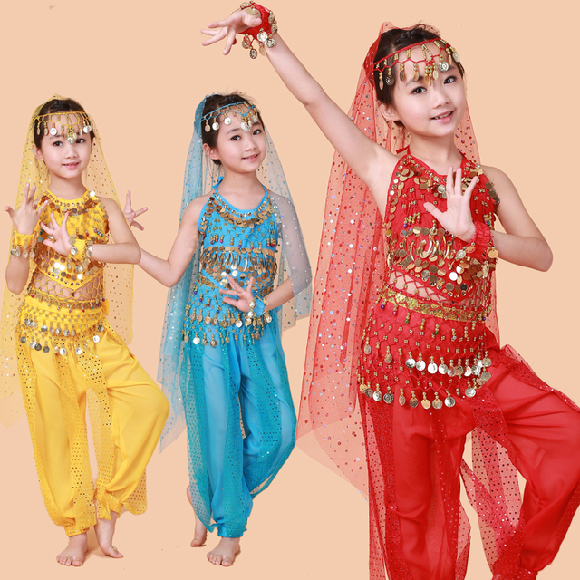 3a4c860fdbbd Free Shipping Hot Selling Belly Dance Performance Bollywood Indian ...