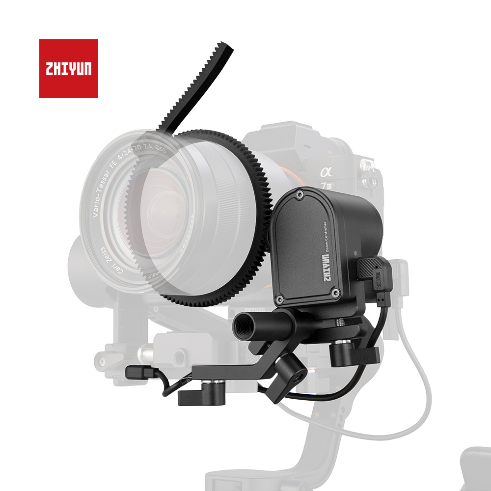 Zhiyun CMF-04 TransMount Servo Siga Foco/Zoom Controller (Max) aplicável com Zhiyun Guindaste 3 LABORATÓRIO LAB & Weebill