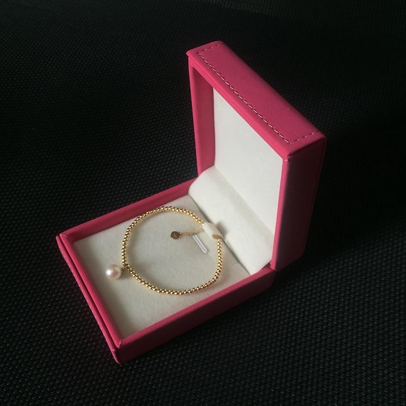 Натуральныя жэмчуг Sinya 18k браслет з - Вытанчаныя ўпрыгажэнні - Фота 5