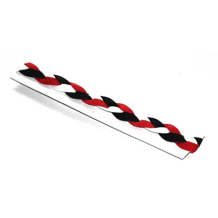Wholesale 10 Pcs Lot Red Blue White Usa Colors Yoga Braided Headband Softball