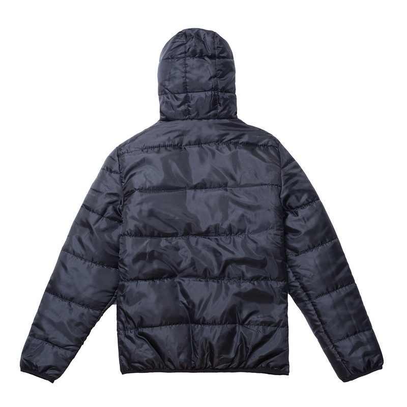 Mode Männer Jacken Neue Einfache Feste Kapuze Mantel Männlichen Herbst Winter Dünne Parkas Gepolsterte Baumwolle Mit Kapuze Windbreaker Parka Outwear