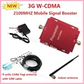 Best price ! WCDMA 3G Repeater , Cell Phone Signal Booster Extenders amplifier repeater Kit With Yagi Antenna For Home Or Office