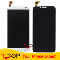 Für Alcatel One Touch Idol 2 6037 6037Y 6037 Karat OT6037 LCD Display + Touchscreen Digitizer Montage 1 Teil/los