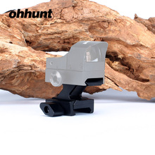 Фотография ohhunt Hunting Red Dot Sight Riser Mounts Base Ruggedized Miniature Picatinny Weaver Rail Mount for Optical Riflescope