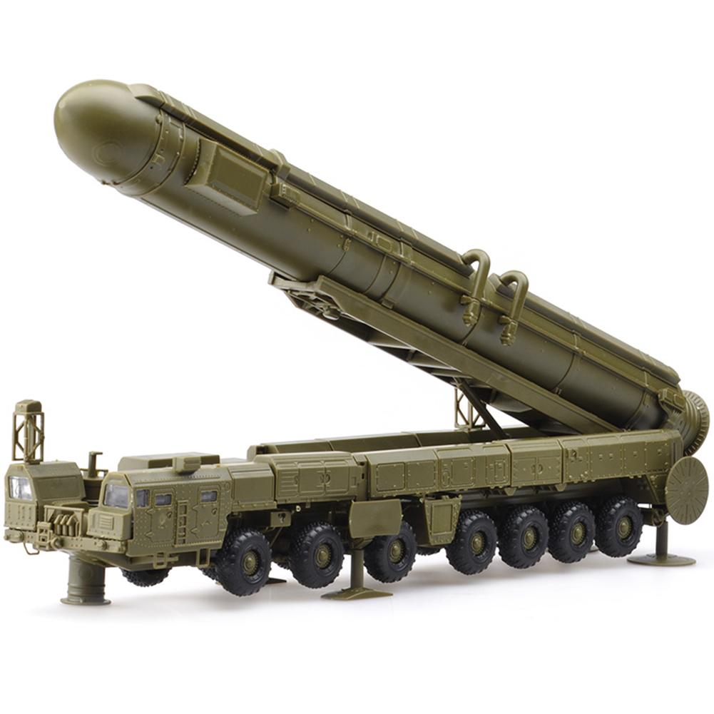 1:72 RT-2PM Russian Military Assembly Model For RS-12M Intercontinental Missile Vehicles