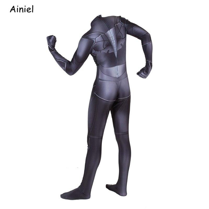 Image 3 - Batman Cosplay Costume Mask suit The Dark Knight Bruce Wayne Superhero Halloween Costume Zentai Bodysuit Jumpsuit Kids Men AdultMovie & TV costumes   -