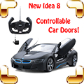 Nueva Venida de Regalo Idea I8 Edición Limitada 1/14 2.4G RC Remoto Controlable de carreras de Coches Modelo De Puerta De Coche Vehículo Escala Drift Auto de Juguete