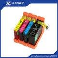 4pcs Compatible ink cartridge compatible Lexmark 100XL 105XL 108XL for S301 302 305 S40 409 S505 S605 S308 S408 S508 S608 815