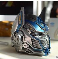 wholesale factory Human Transformers Optimus Prime creative ashtray promotion gifts holiday resin crafts with cover