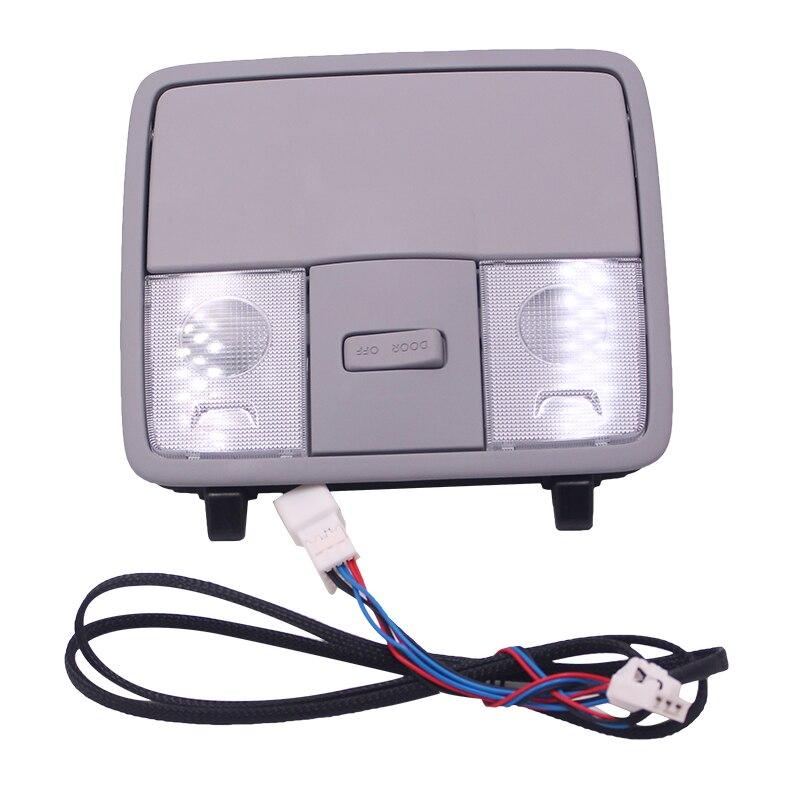 Над головой консольная лампа в сборе для hyundai Solaris-2011-2015 KIA K2 fcrte Accent Solaris Verna OEM 92800-1R000TX Стандартный Sunglasse