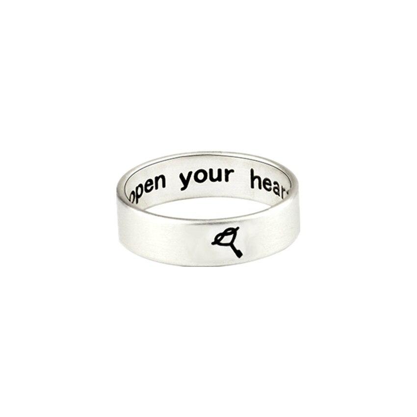 Брелоки для автомобиля сердце любовь свадьба Promise Ring Нержавеющаясталь пары Обручение полосы для Для мужчин и женщина Bague Роковой anillos