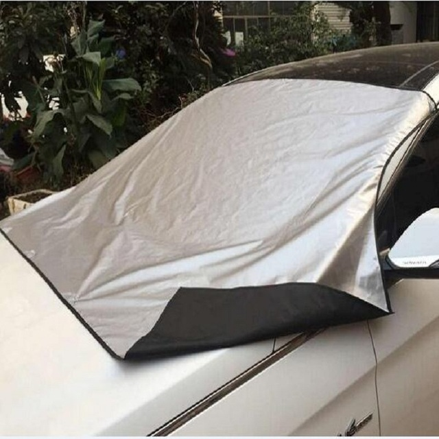 Car Window Cover Sunshade Snow Covers with Magnet stciker  Reflective Foil for all Car Windshield prevent frost/mist Anti-UV
