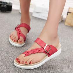 3025G3026G/летние босоножки, новая женская обувь, сандалии на плоской подошве, модная женская обувь