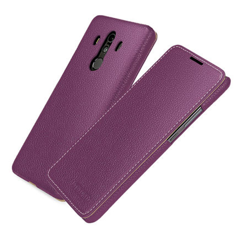 Fashion Flip Case for Huawei Mate 10 Cover case Luxury Genuine leather Stand Shell for Huawei mate 10pro 10 pro