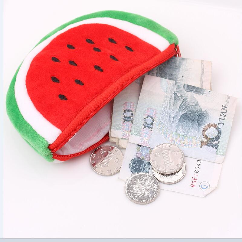 Coin Purses For Girls Lovely Fruit Small Key Card Holder Wallets Women Lady Children Bag For Coins Purse Monedero Mujer 2016 coin bag creative flower women coin purses fresh syle key wallets canvas girls child gift wallets small purse b0234