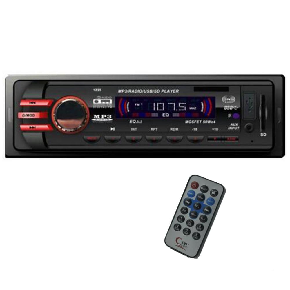 new 12v car audio car radio car stereo mp3 player sd usb. Black Bedroom Furniture Sets. Home Design Ideas